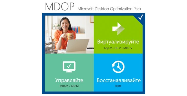Microsoft Desktop Optimization Pack 2015 описание